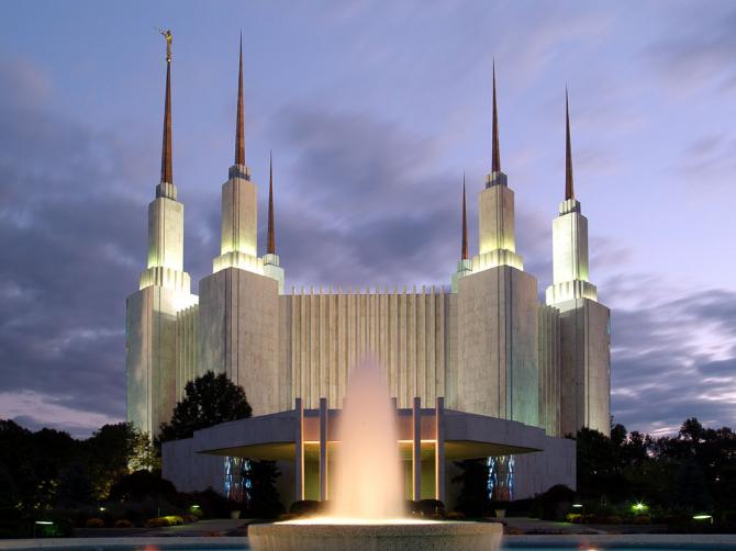 Templo de Wasington D.C (Mormon)