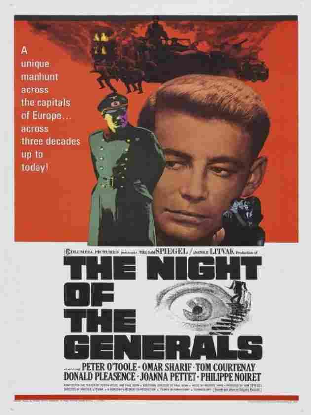 La noche de los generales (1966)