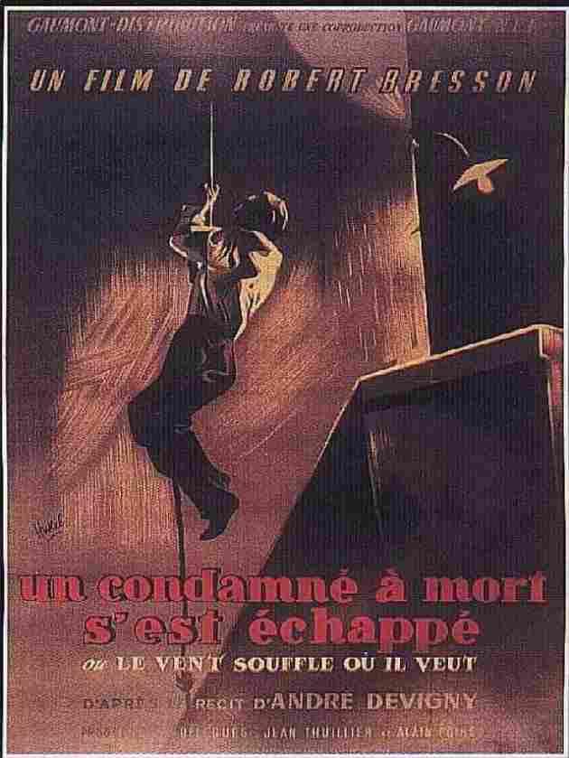 Un condenado a muerte se ha escapado (1956)