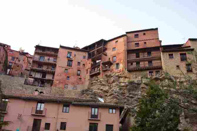 Hanging Houses of Albarracín (Province of Teruel)
