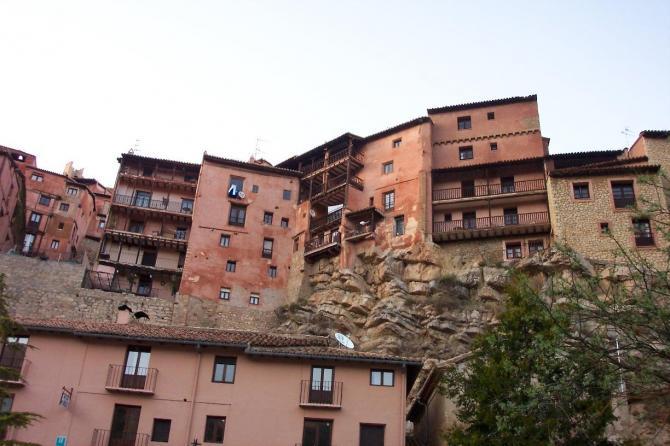 Maisons suspendues d'Albarracín (province de Teruel)