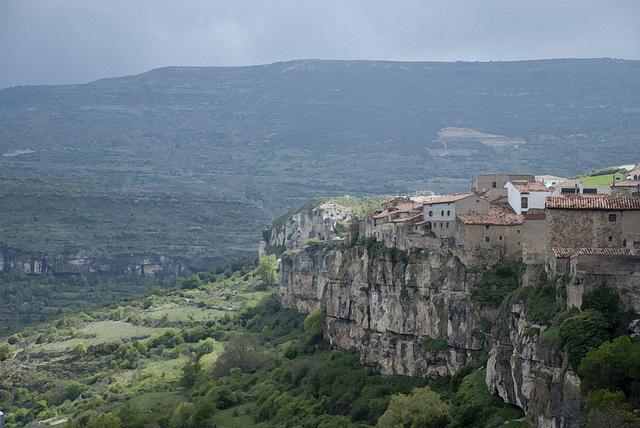 Maisons suspendues de Cantavieja (Province de Teruel)