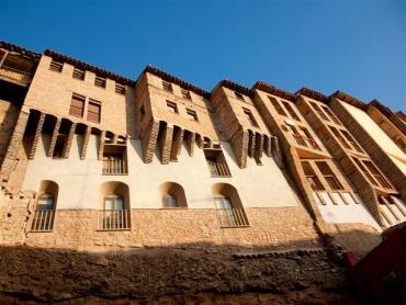 Maisons suspendues de Tarazona (province de Saragosse)
