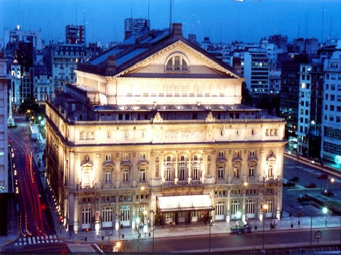 Театр Колон - Буэнос-Айрес (Аргентина)