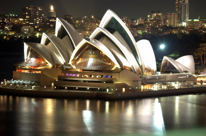 Оперный театр - Сидней (Австралия)
