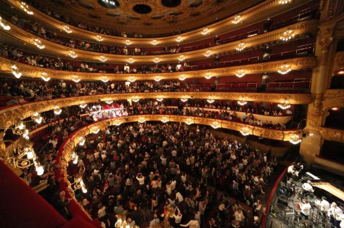 Гран Театр дель Лисеу - Барселона (Испания)