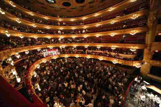 Gran Teatre del Liceu - Barcelona (España)