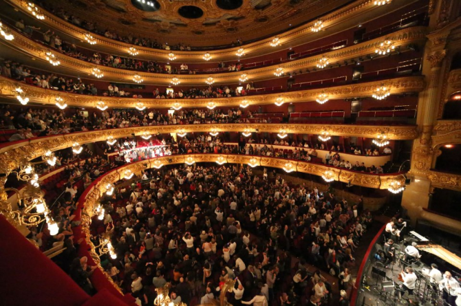 Gran Teatre del Liceu - Barcelona (Sepanyol)