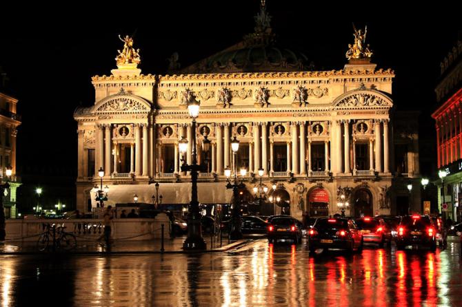Opéra Garnier - Paris (Frankrike)
