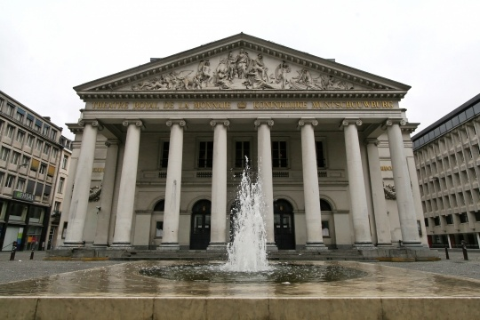 Teatro da Monnaie - Bruxelas (Bélgica)