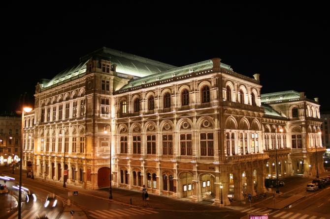 Wiener Staatsoper - Вена (Австрия)