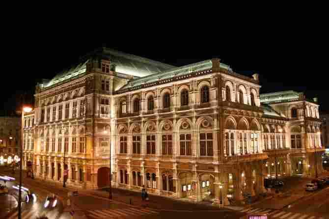 Wiener Staatsoper - Viena (Austria)