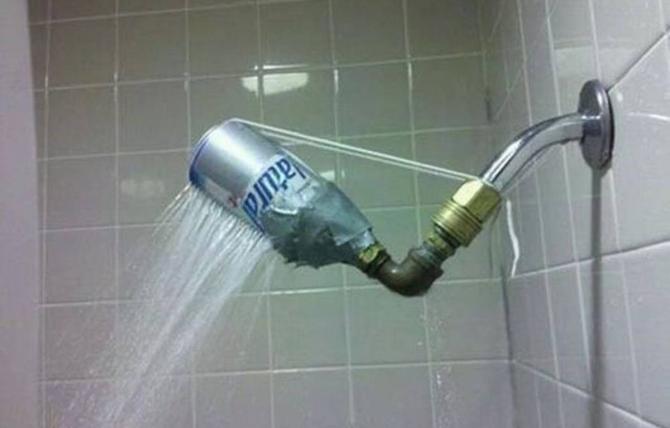 Sprinkler dusch