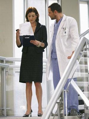 Addison e Alex (Kate Walsh e Justin Chambers)