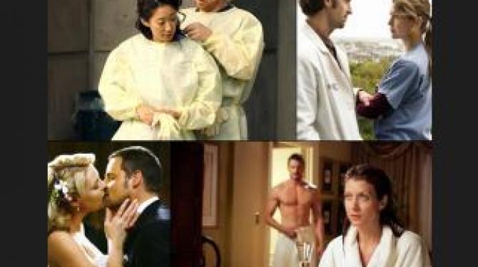 Anatomia de Grey Melhores Casais
