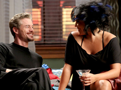 Callie and Mark (Sara Ramirez and Eric Dane)