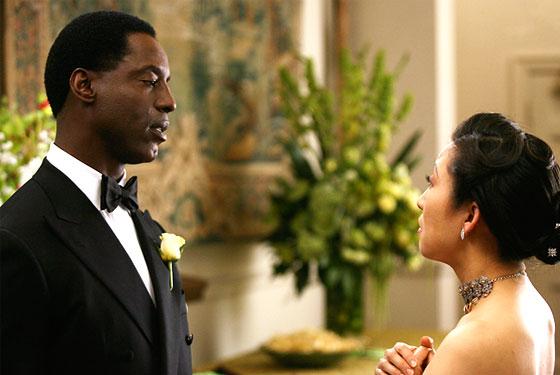 Cristina and Burke (Sandra Oh and Isaiah Washington)