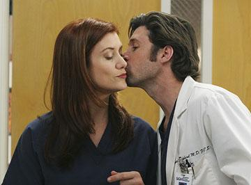 Derek and Addison (Patrick Dempsey and Kate Walsh)