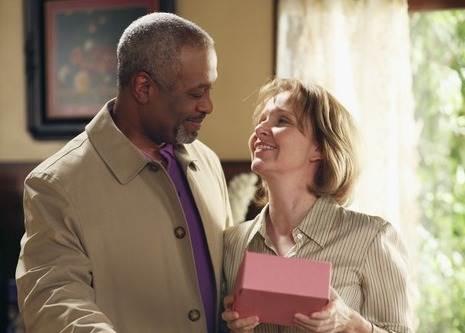 Ellis and Richard (Kate Burton and James Pickens Jr.)
