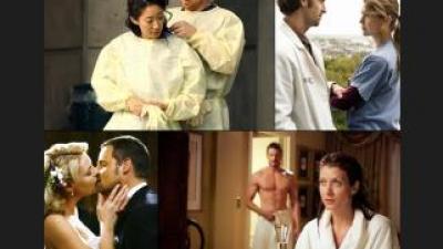 Grey's Anatomy Лучшие пары
