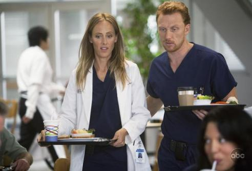 Owen and Teddy (Kevin McKidd and Kim Raver)