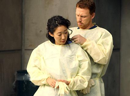 Owen e Cristina (Kevin McKidd e Sandra Oh)
