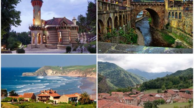 Самые красивые города в Кантабрии
