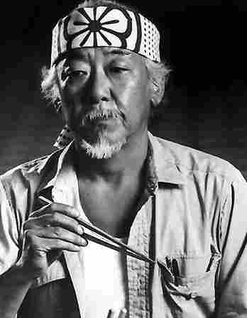 Pat Morita (USA with Japanese ancestry) (QEPD)