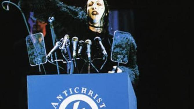 A maior polêmica de Marilyn Manson