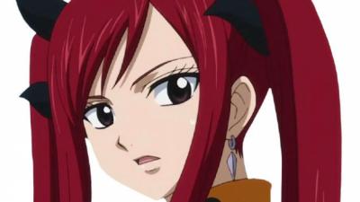 Самые красивые аниме девушки с рыжими волосами