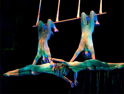 Artistas de trapézio