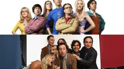 Actors of 'the big bang theory' in and out of the series