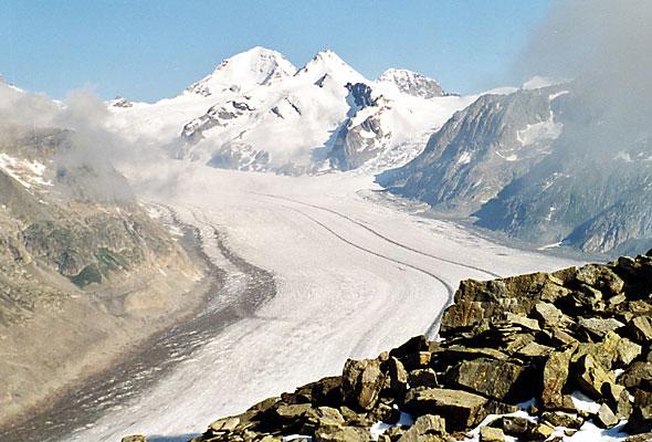 Юнгфрау-Aletsch охраняемого района