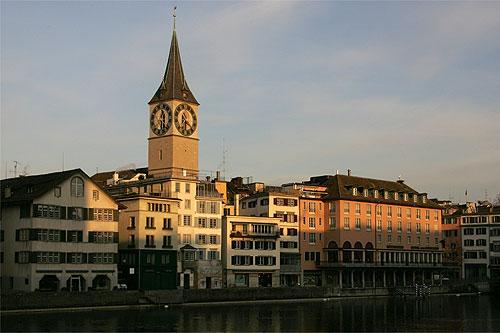 Eglise Saint-Pierre à Zurich