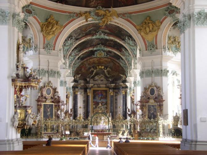 L'abbaye de San Galo