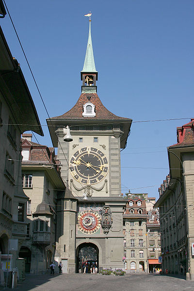 La tour de l'horloge (Zytglogge)