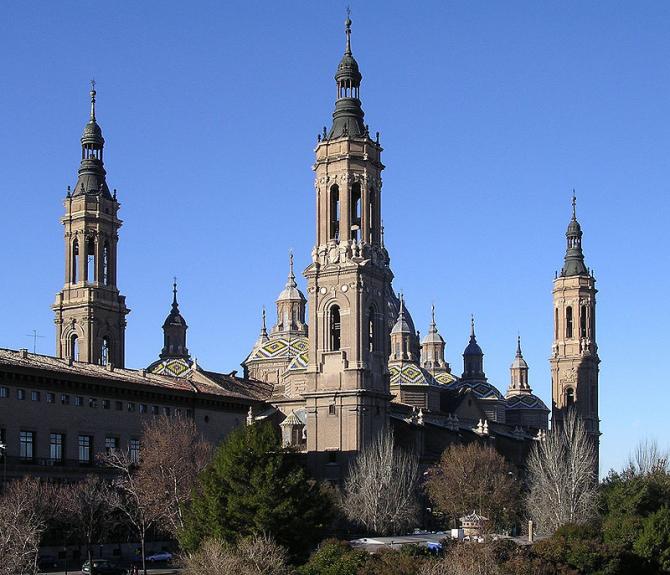 Кафедральный собор Базилики Богоматери в Сарагосе