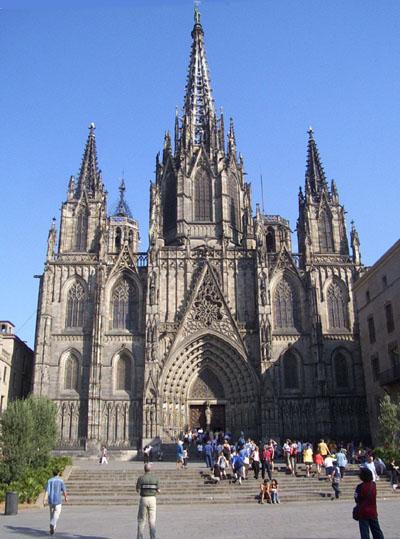 Собор Святой Эулалии в Барселоне