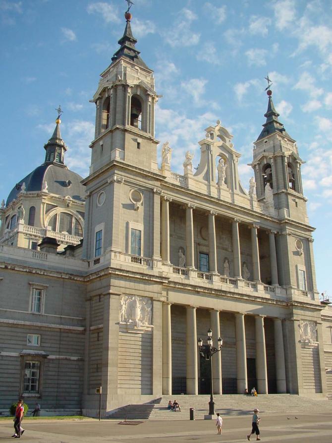 Catedral de Santa Maria a Real da Almudena em Madri