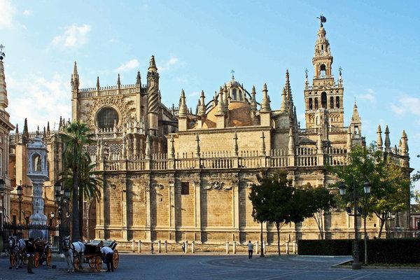 Catedral de Santa Maria da Sede em Sevilha