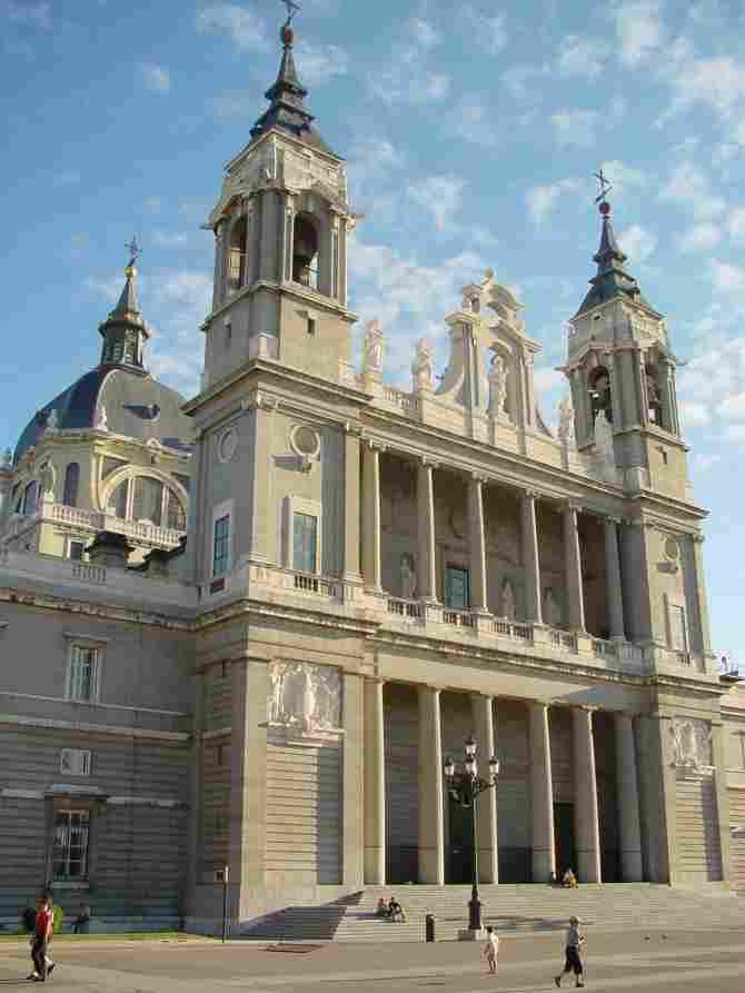 Cathedral of Santa Maria la Real de la Almudena in Madrid