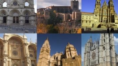 Die besten Kathedralen in Spanien