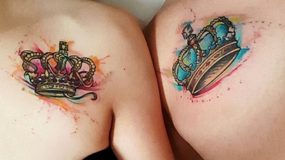 Crowns tattoos with different designs