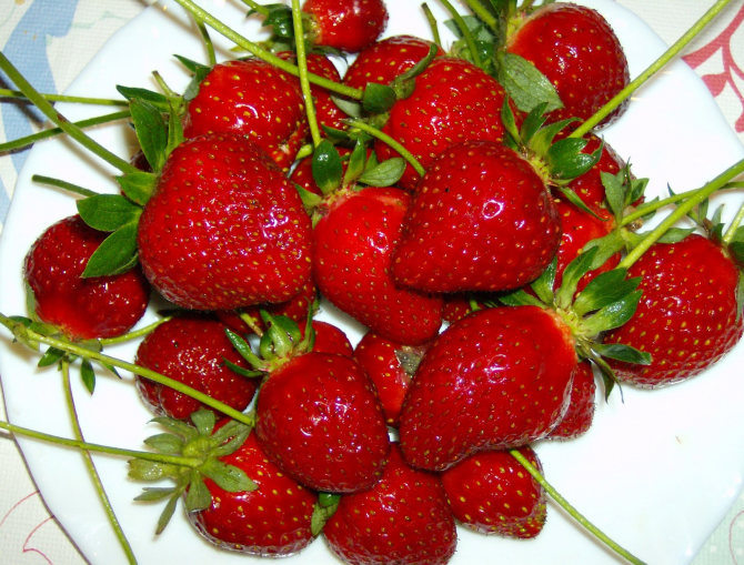 Keep strawberries or strawberries