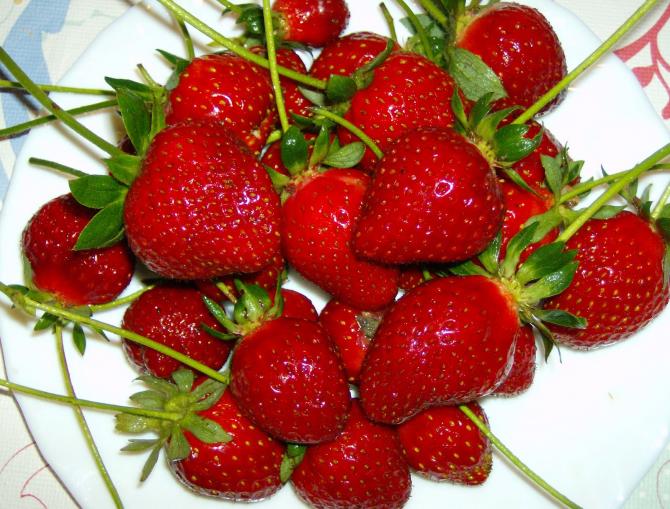 Simpan stroberi atau strawberi