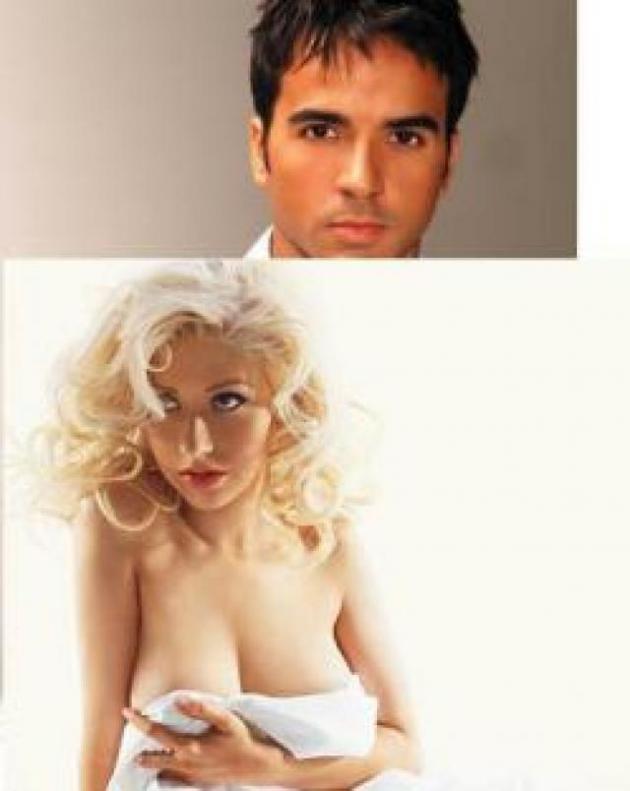 """Luis Fonsi e Chistina Aguilera """"se eu não tivesse te conhecido"""""""