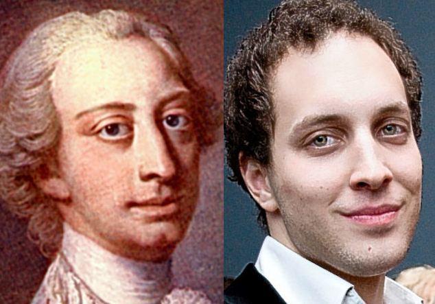 Луи Фредерик Уэльский (1707-1751) и лорд Фредерик Виндзор