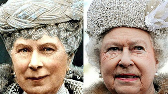 Os curiosos clones da família real britânica