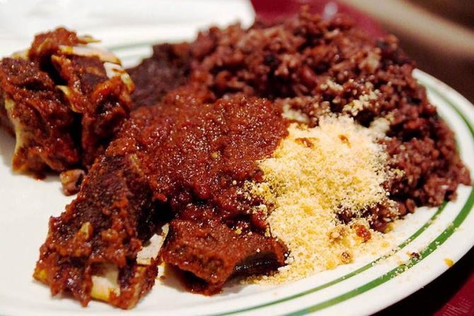Petit déjeuner au Ghana