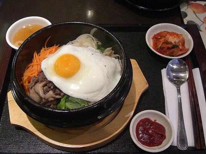 Petit déjeuner coréen